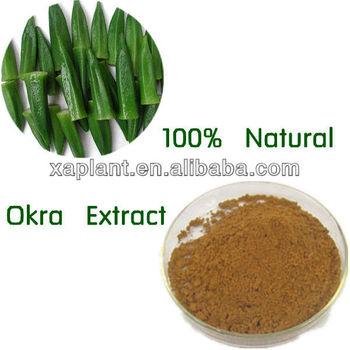 100% High Quality Okra Extract Powder for sex enhanced
