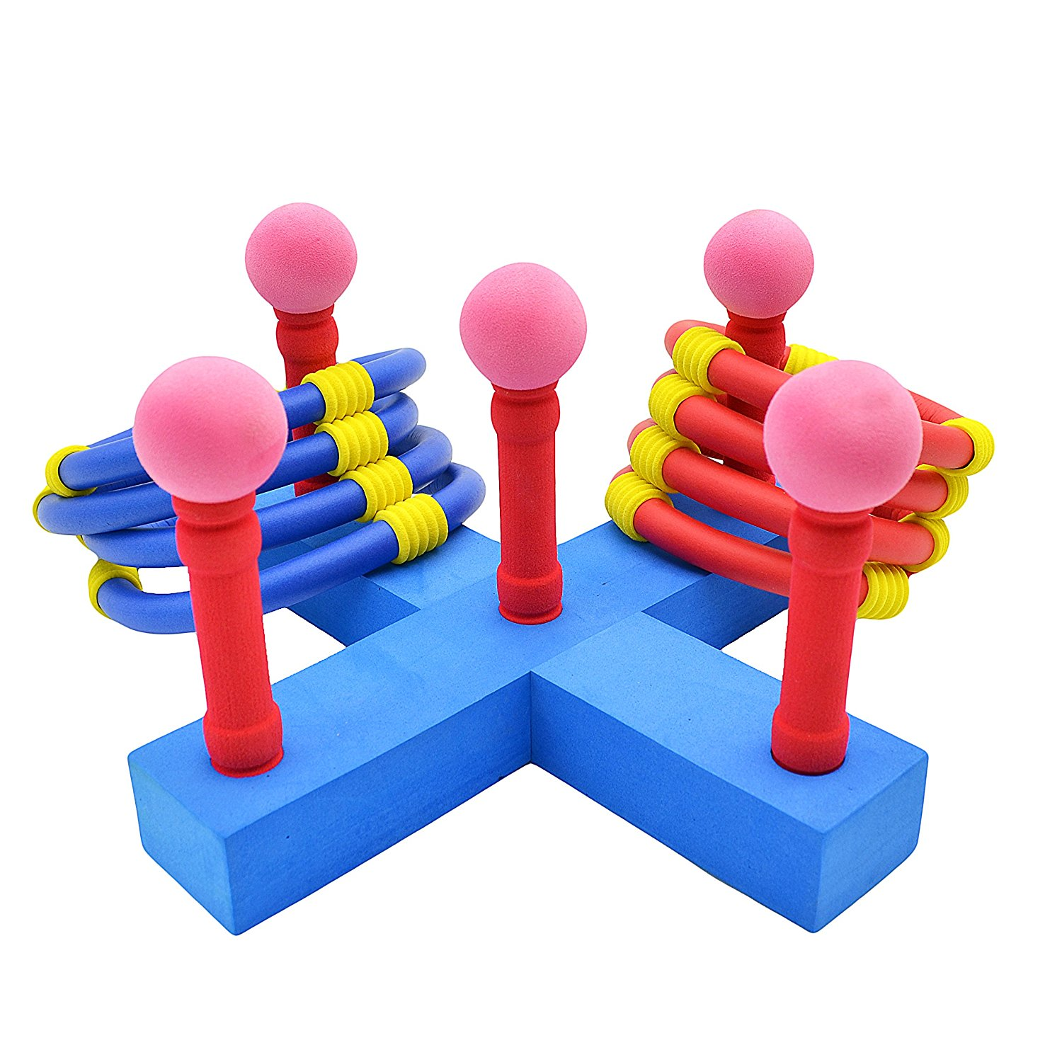 Agirlgle Ring Toss Games For Kids and Outdoor Toys Keep Kids Active-Outdoor Kids Games for Tailgating, Camping, Backyard and Garden- Easy to Assemble and Made of EVA Foam Soft Materials Safety for Kid
