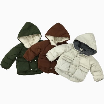 3 colors oem wholesale children winter baby clothes coat fashion winter season children clothes