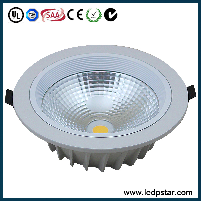 Shenzhen Factory 6inch 120lm/w Epistar Cob 18w Led Downlight