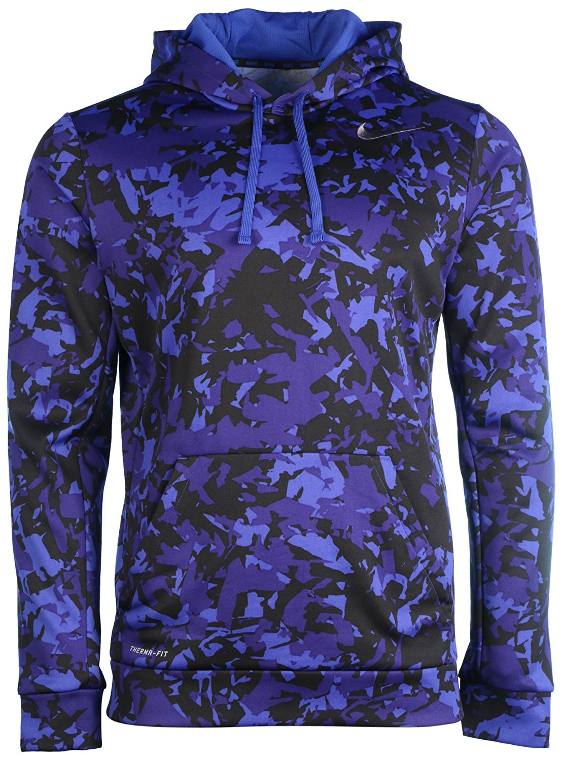 f788331fd5dc ... All Time Therma-Fit Full Zip Women s Hoodie keeps you warm and  comfortable. Get Quotations · NIKE KO SPLINTER PULLOVER HOODIE Blue CAMO  Large 839527 480