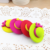 wholesale lovely 3d summer hats rubber eraser children eraser