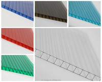 lowes polycarbonate panels roofing sheet solar panel/hollow plastic sheet