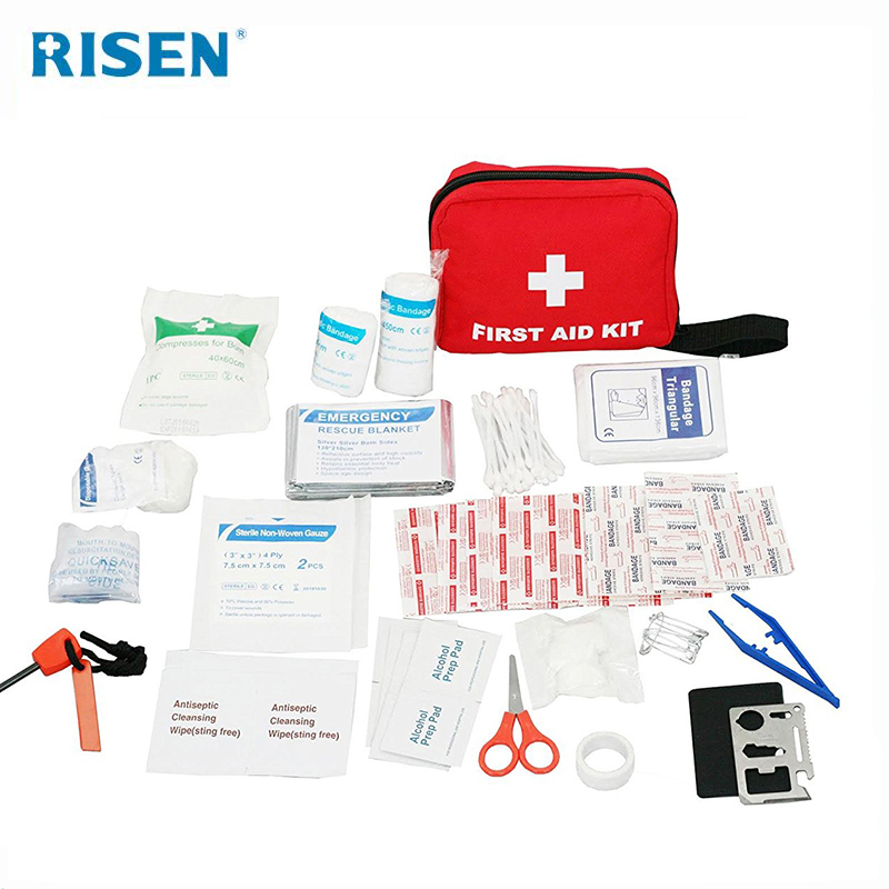 Kleine Eerste Medische Box Emergency Survival kit bag Behandeling Outdoor Camping