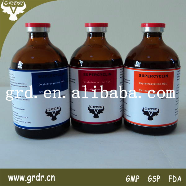 Veterinary Drug Oxy Injection 10%