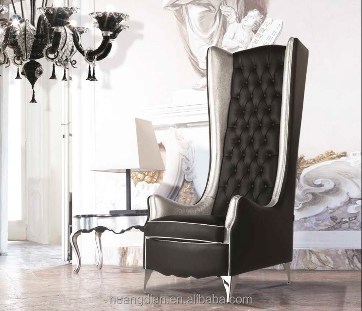 Leather King Throne Chair Luxury Living Room Furniture Commercial Furniture  Manufacturers ...