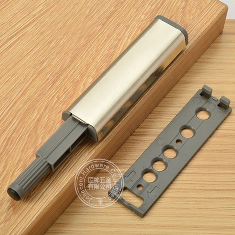 Handless push open latch for wooden door and drawers push open