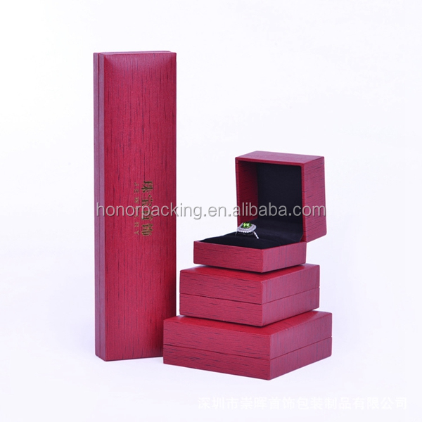 New products alibaba china christmas made in China velvet jewelry case economic jewelry paper box jewelry necklace box