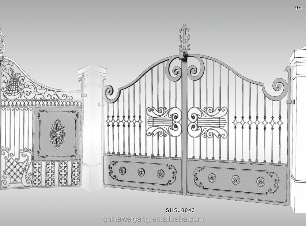 Main Wrought Iron Gate Design Home