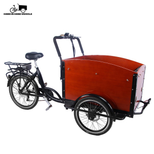 3 wheel electric tricycle adults passenger bakfiets cargo bike for sale