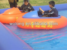 play attractive popular amusement equipment, water boat on sale!!!