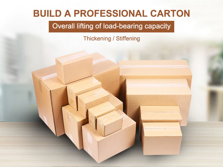 Corrugated carton empty  moving boxes cardboard packaging box