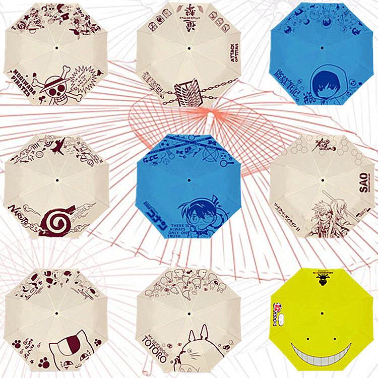 12 PATTERN Cartoon ghibli Umbrella Men kids girl parasol ...