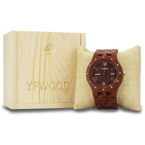 Watch box natural wooden box luxury gift box