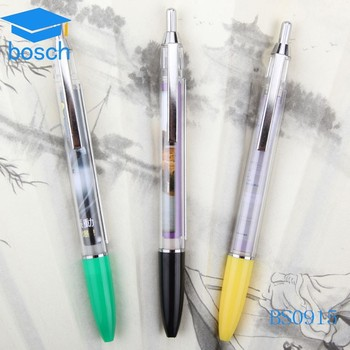 Customized Advertising Banner Pens For Advertising ballpoint pen school 0.7mm bic