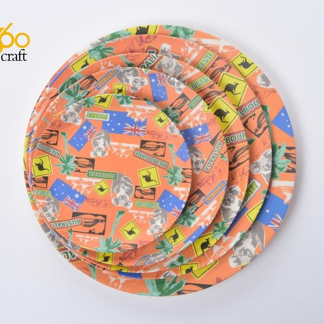 High quality Food Grade round Dinner bio disposable 100% bamboo fibre plates set  sc 1 st  Alibaba & China Disposable Plates Bio Wholesale 🇨🇳 - Alibaba