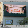 Outdoor Full Color P10 LED Advertising Display Wall Mounted