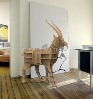 No Folded Creative Animal Shaped Book Shelves