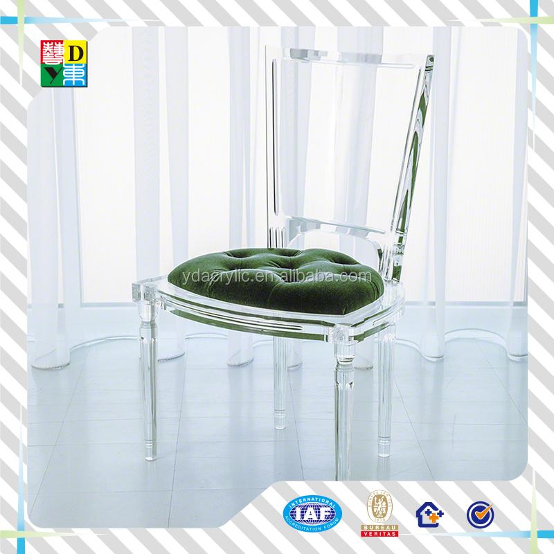 Transparent Acrylic Chair / S Shape Acrylic Dining Chair/clear ...