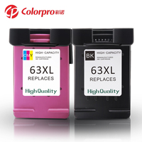 Brand New remanufactured ink cartridges for 63 cartridge for 63XL for Officejet 4650 3830 3831 3832 3834 4652 4654 4655
