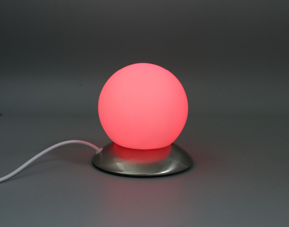 RGB changing Bulb Night Light Desktop Decoration LED Touch Table Lamp