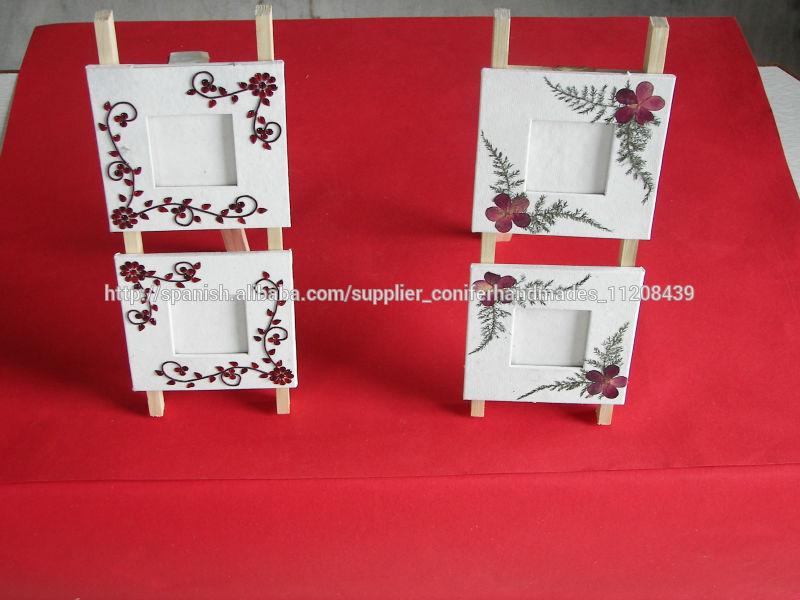 papel hecho a mano marcos de fotos-Marco-Identificación del producto ...