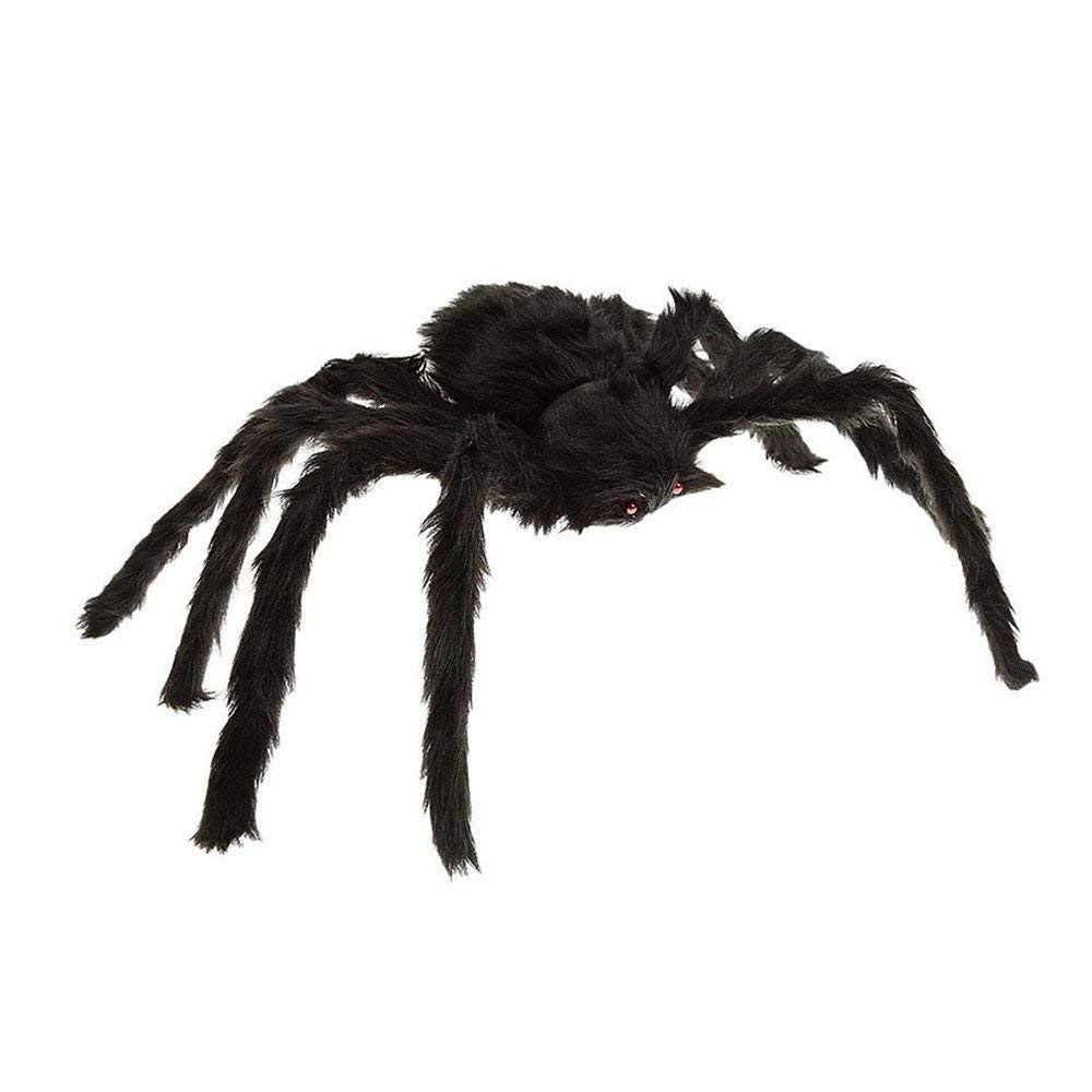 Plush Soft Toy Black Plush Spider Red Eye Halloween Decoration Party Favours Yet Not Vulgar Toys & Hobbies