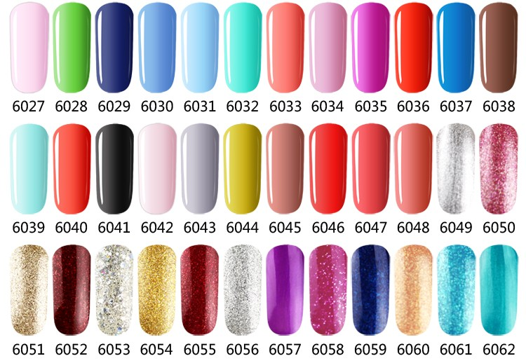 2016 Nail Polish Brand Names Lvmay Fashion Color One Step Gel Nail ...