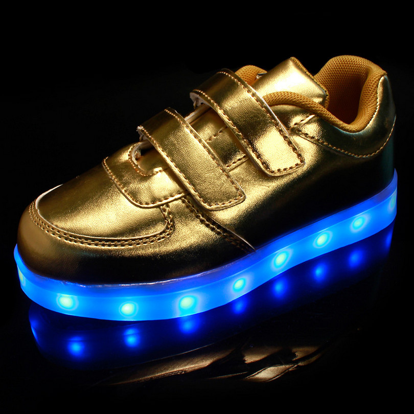 best authentic d5561 0ca37 ... gold  new light up shoes pictures to pin on pinterest pinsdaddy nike ...