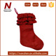 "new 19"" bulk knit free standing christmas stocking holder"