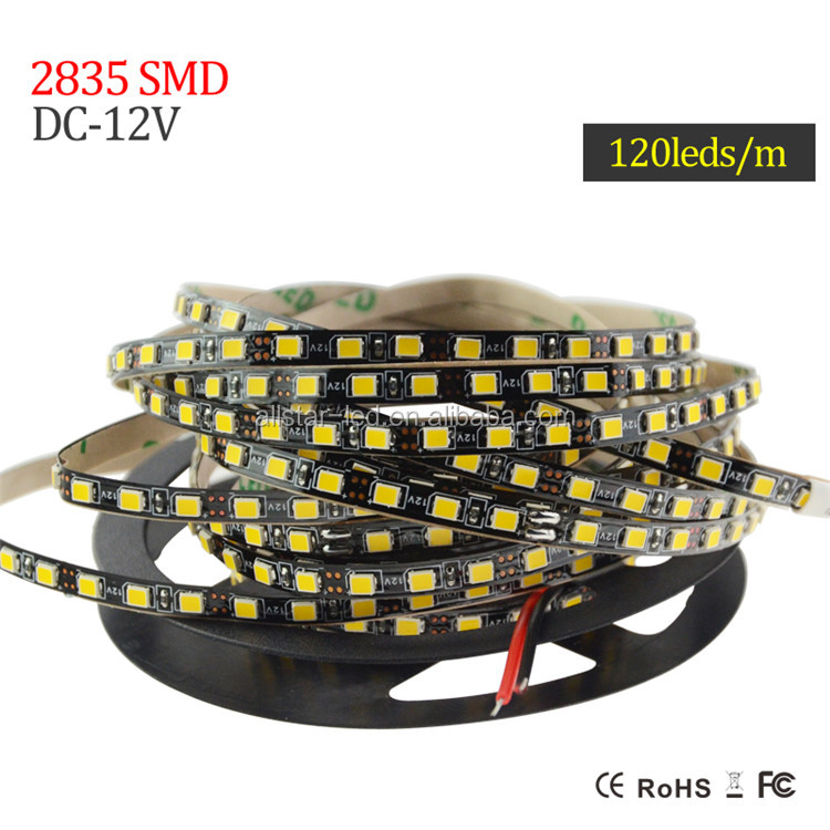 Narrow 3528/2835 smd led Strip flexible light DC12V/24V 4mm 5mm Width led strip 2835 60led 90led 120led 240led meter