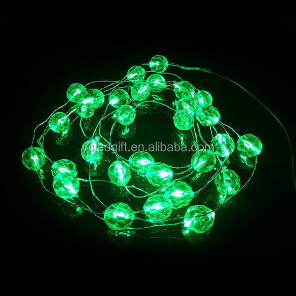 Christmas Decoration Lights Led Bead String Light,Led Copper Wire String Light - Buy Led Bead ...