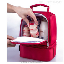 Fashion Nylon Lunch Bags Thermal Bags Women's Lovely Insulation Cooler Box Children Kids Outdoor Frozen Bags