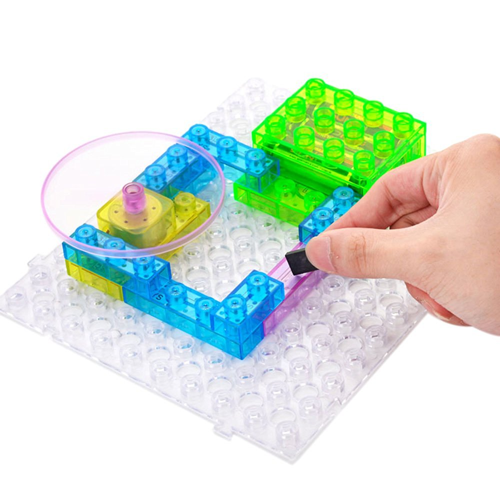 cheap kids building projects, find kids building projects deals onget quotations · goolsky 115 projects diy kits integrated circuit building blocks electronic playground educatioal toy plastic model kits