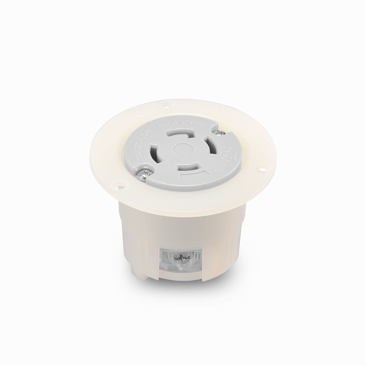 Cheap 30a 125 250v Plug Find Deals On Line At 4 Wire Generator To 3 220v Receptacle Wiring Get Quotations Aweking Ul Listed Nema L14 30c Connector Socket30a 30 Amp