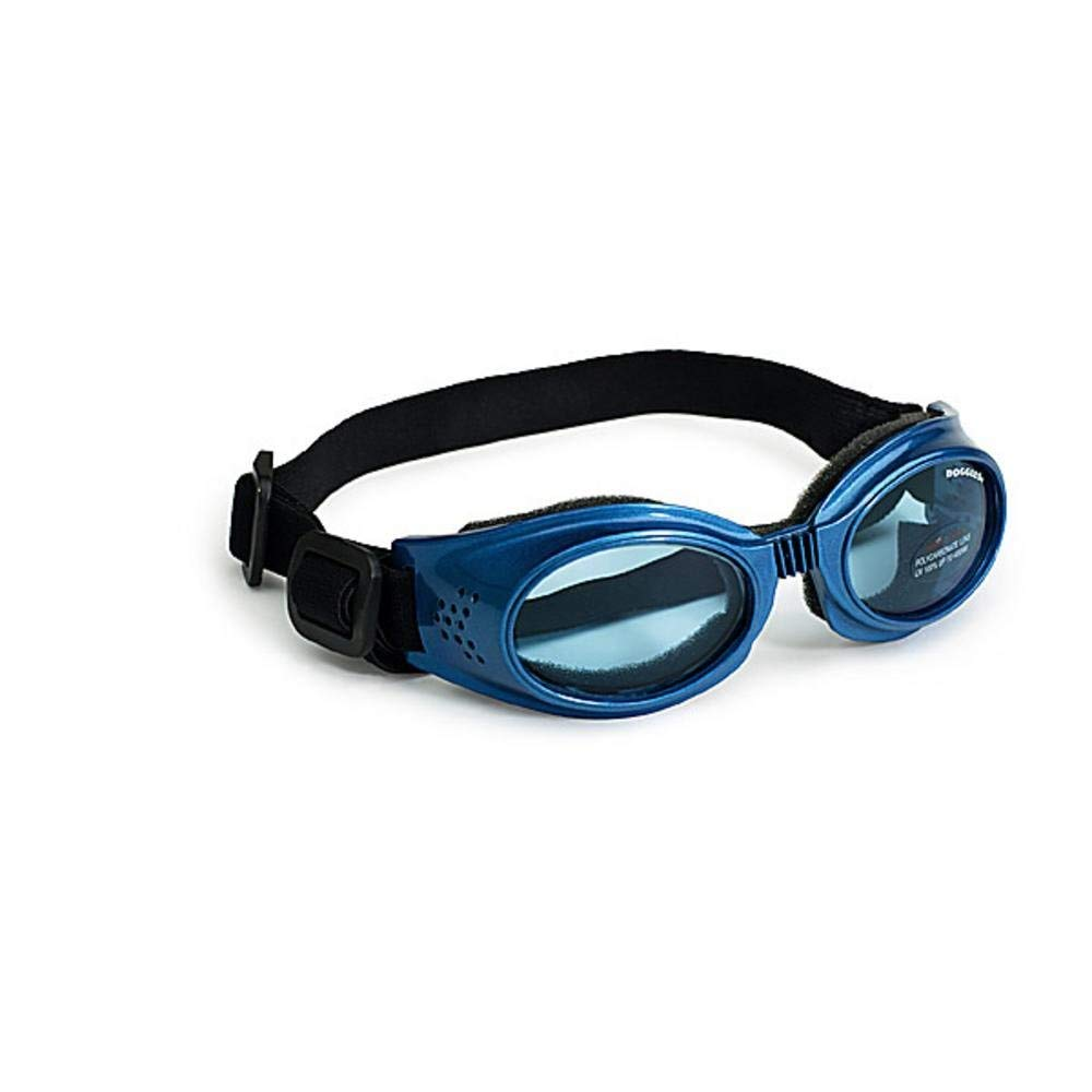 Original Dog Lenses Size: Medium, Color: Blue Frame / Blue Lenses