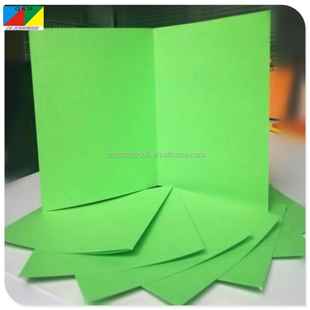 Green Paper Folding Greeting Cardart Card Paper Buy Paper Folding