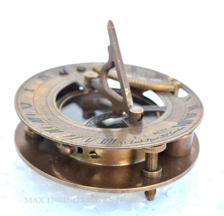 Rare 4 Pcs Brass Brackets For Wooden Binnacle Compass 100% Satisfaction
