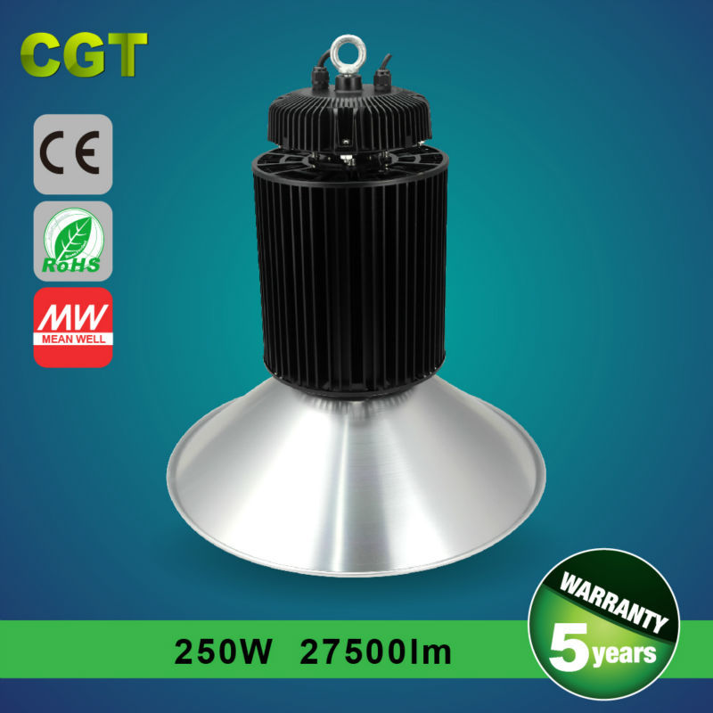 LED high bay light storage/garage/storehouse light Meanwell driver TUV-CE/GS SAA approval