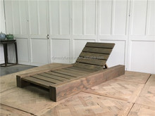 antique style hot sale outdoor wooden daybed