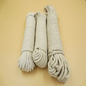 Premium braided used cotton packing rope for sale