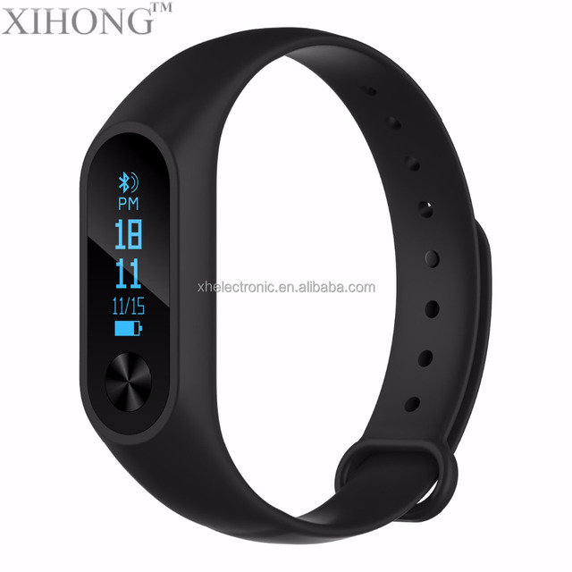 Cheap Price Heart Rate Testing Time Alert Passometer Step Number Monitoring Fittness Tracker Smart Watch Bracelet Band
