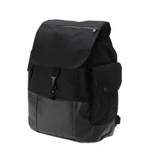 Mens Travel Sports Backpack Vans Black Captain Fin Backpack