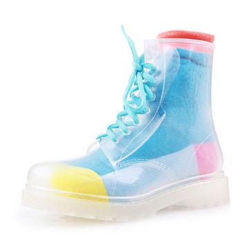 2015 New Style Products Fashion Rain Boots,Plastic Boots For Rain ...