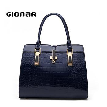 2018 New Models Italian Designer High Quality Genuine Leather Women Land Handbags