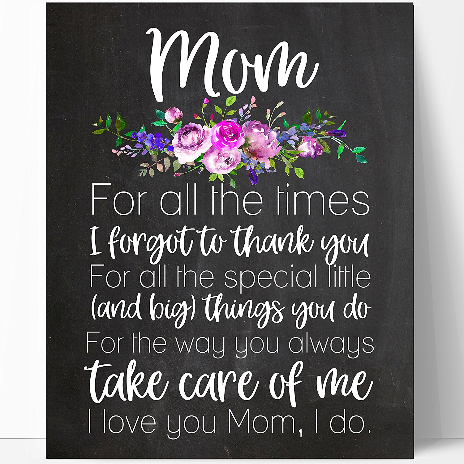 Buy Mom Quote Gift, Mom Chalkboard, Mothers Day Gift, Mom ...