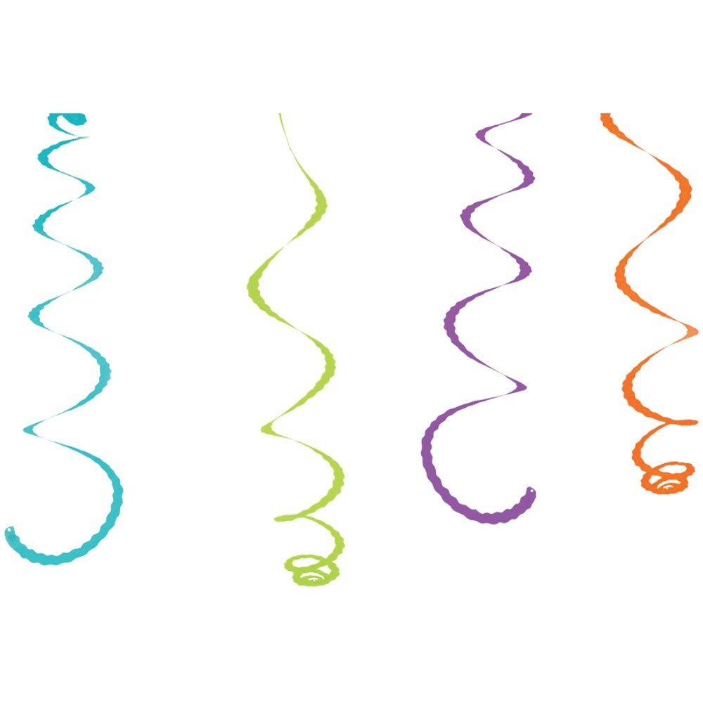 "1 - Citronella-Infused Streamers, 4 pk, Innovative & fun way to create a ""pest-free"" environment, 4 bright & colorful streamers infused with natural oils that are safe & easy to use, CPS4"