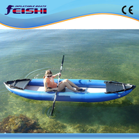 2015 New Design Low price OEM Inflatable Rubber Kayak from China