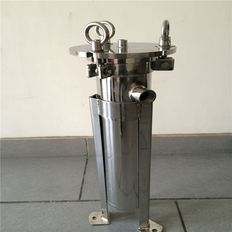 304 single cartridge stainless steel liquid filter housing for water <strong>industry</strong>