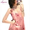 LY219 Hot Selling Women Girls Sexy Chemise Night Gowns Sexy Asian Lady Pajamas Dress Nightwear Night Skirt Sleepwear